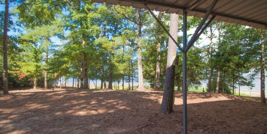 Unrestricted Isolated Waterfront Lot